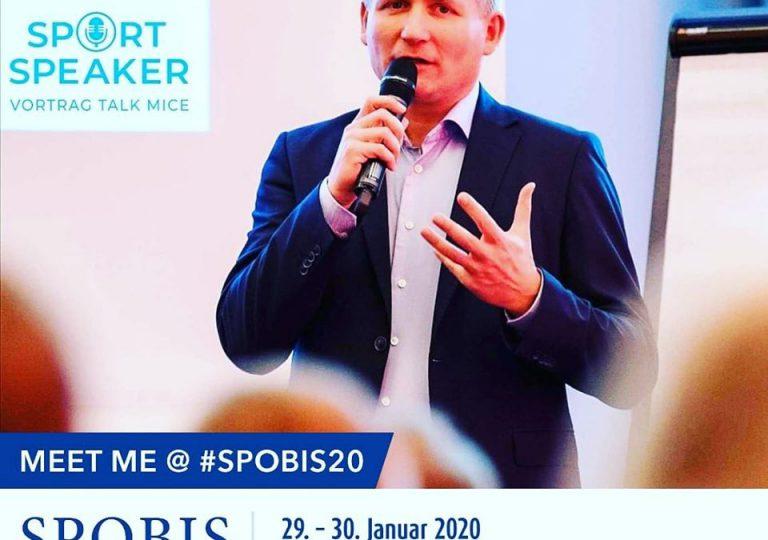 SPORT SPEAKER auf Europas größtem Sponsoringkongress SPOBIS 2020